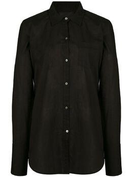 Nili Lotan рубашка с нагрудным карманом 90F096