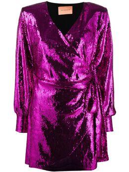 Andamane платье мини Carly с пайетками CARLYQ02A052
