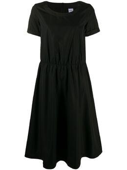 Aspesi расклешенное платье с короткими рукавами H614D307