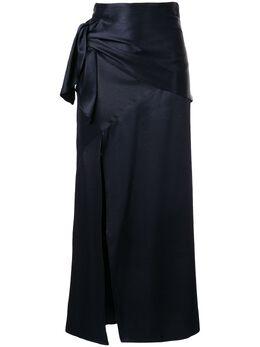 Christopher Esber юбка макси с завязкой сбоку F19SK03