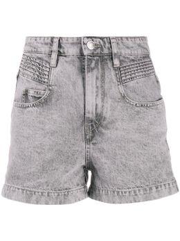 Isabel Marant Etoile джинсовые шорты Hiana с завышенной талией SH028720P017E