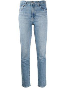 J Brand узкие джинсы с завышенной талией JB002455