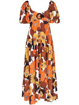 Dodo Bar Or платье миди Mor с цветочным принтом DBO1102