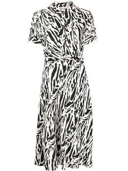 Dvf Diane Von Furstenberg платье-рубашка с короткими рукавами 13944DVF