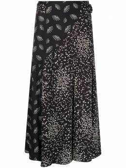 Luisa Cerano расклешенная юбка с принтом 5180642410