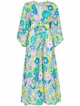 Dodo Bar Or платье Shelly с вырезами и цветочным принтом DBO1101