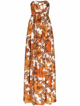 Dodo Bar Or платье макси Zaza с цветочным принтом DBO1127