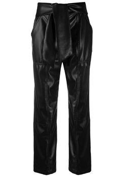 Jonathan Simkhai брюки с завязками 1204014L