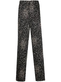 Luisa Cerano расклешенные брюки в горох 6181242390
