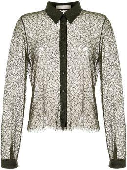 Dion Lee кружевная рубашка A5114S20