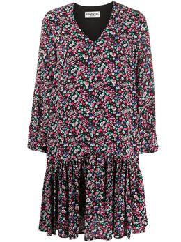 Essentiel Antwerp платье с оборками и цветочным принтом VERCI