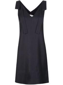 Victoria, Victoria Beckham платье-трапеция с V-образным вырезом 2120WDR000535B