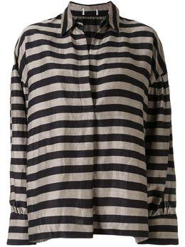 Rebecca Vallance рубашка Nautique в полоску 20012273