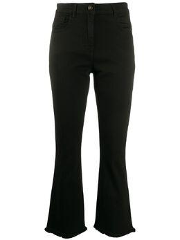 Semicouture укороченные расклешенные джинсы с завышенной талией Y0SY10