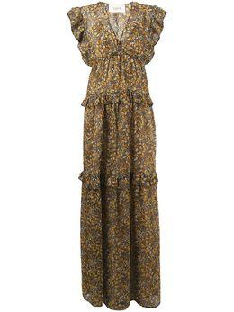 Ba&sh платье с принтом 1E20SAMA