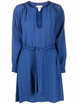 Forte_Forte платье-рубашка с завязками на талии 7042MYDRESS