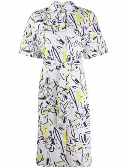 Ps by Paul Smith платье-рубашка с короткими рукавами и цветочным принтом W2R351DBA30564