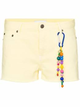 Mira Mikati джинсовые шорты с вырезами DEN016SS20