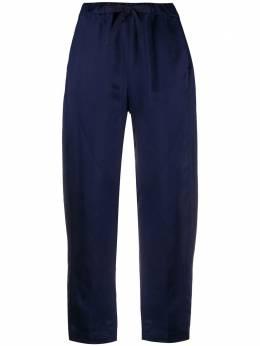 Semicouture укороченные брюки прямого кроя Y0SQ02
