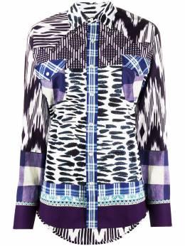 Pierre-louis Mascia рубашка с длинными рукавами и принтом RAZZOLISWCML1077910130