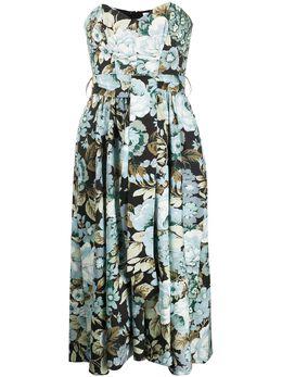 P.a.r.o.s.h. платье с цветочным принтом D723209CORUS