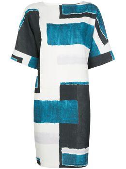 Natori короткое платье-трапеция со вставками K83126