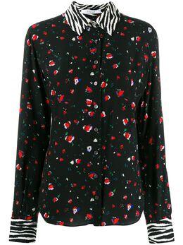 10 Crosby Derek Lam рубашка кроя слим Kosma на пуговицах с цветочным принтом TR01701FV