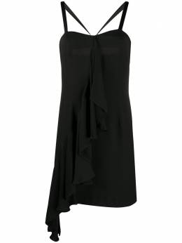John Richmond платье-комбинация Farah с оборками RWP20118VE
