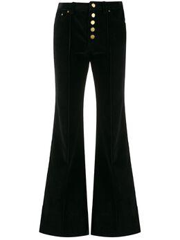 MICHAEL Michael Kors расклешенные вельветовые брюки MF93H89A5R001
