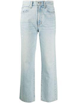 Slvrlake укороченные джинсы с завышенной талией LNDC707SLC