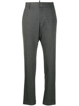 Dsquared2 строгие брюки прямого кроя S75KB0099S40320