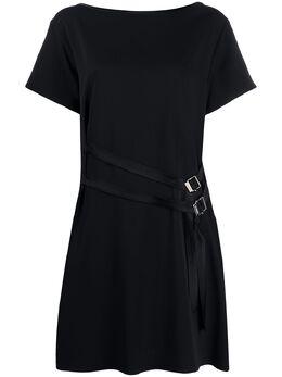 Iceberg платье-трапеция с пряжками H1215219