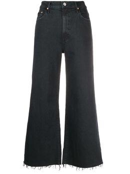Mother расклешенные джинсы с эффектом потертости 1205544