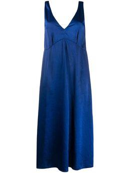 Forte_Forte платье с V-образным вырезом MOD7053MYDRESS