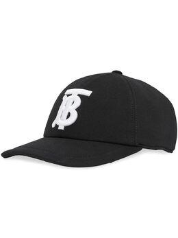 Burberry бейсбольная кепка с монограммой 8026899