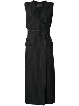 Ginger & Smart полосатое платье-блейзер Admiral W20506