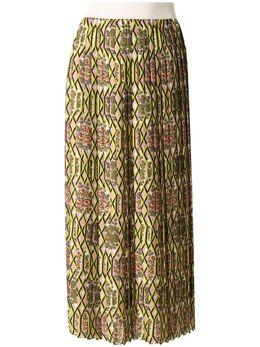 Manning Cartell плиссированная юбка с цветочным принтом 20W40527