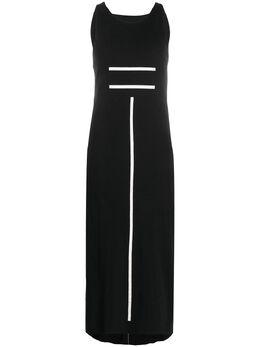 Thom Krom длинное платье с графичным принтом WTD6703