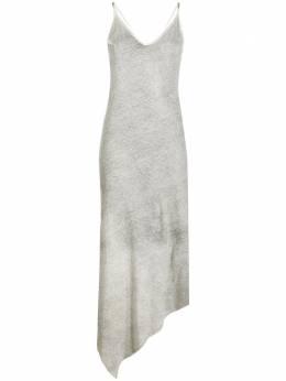 Thom Krom платье-комбинация асимметричного кроя WTD7703