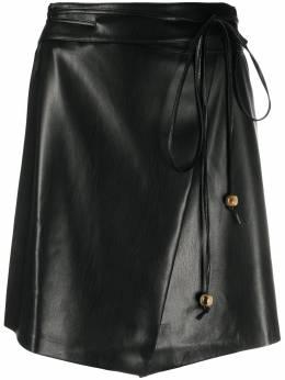 Nanushka юбка Nanushka с завязками WSK00073