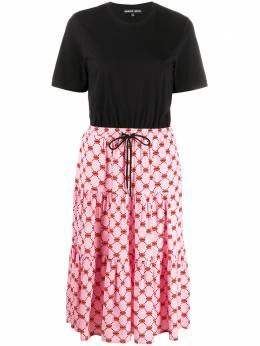 Markus Lupfer платье-футболка Lips DR1102