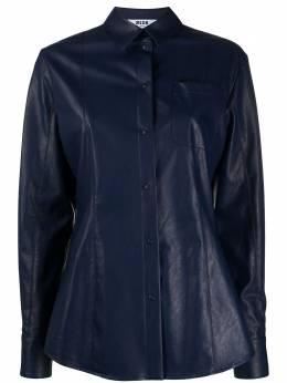 MSGM рубашка из искусственной кожи 2841MDE19207108