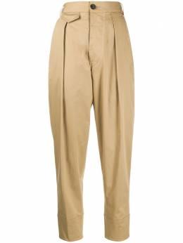 Dsquared2 укороченные брюки с завышенной талией S72KA1011S35175