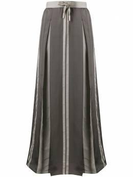 Lorena Antoniazzi юбка макси с кулиской и складками P2026GO0143134