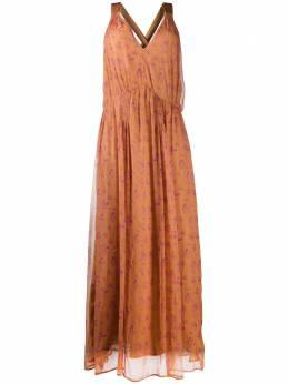 Mes Demoiselles платье с цветочным принтом 20SMMDKW00061