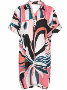 Natori платье свободного кроя с цветочным принтом K83225