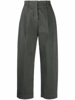 Ymc брюки широкого кроя со складками Q4NAI