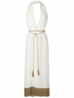 Framed платье Nassau с вырезом халтер 343360