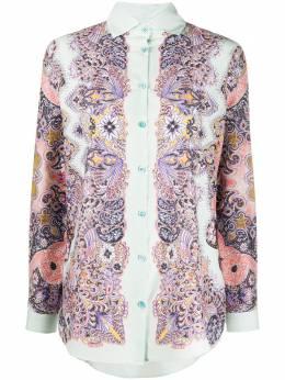 Etro блузка с принтом пейсли 135509597