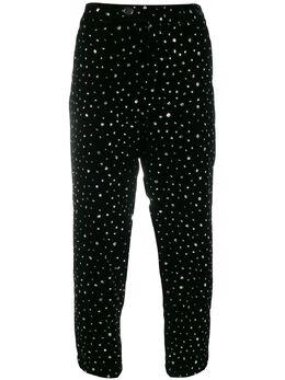 Roseanna декорированные укороченные брюки W19DIANJANET